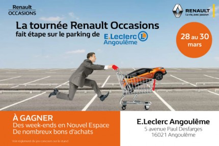Renault Occasions Angoulême vs Leclerc
